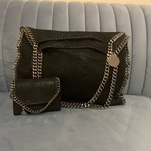 Stella McCartney Falabella Tote Bag and Wallet